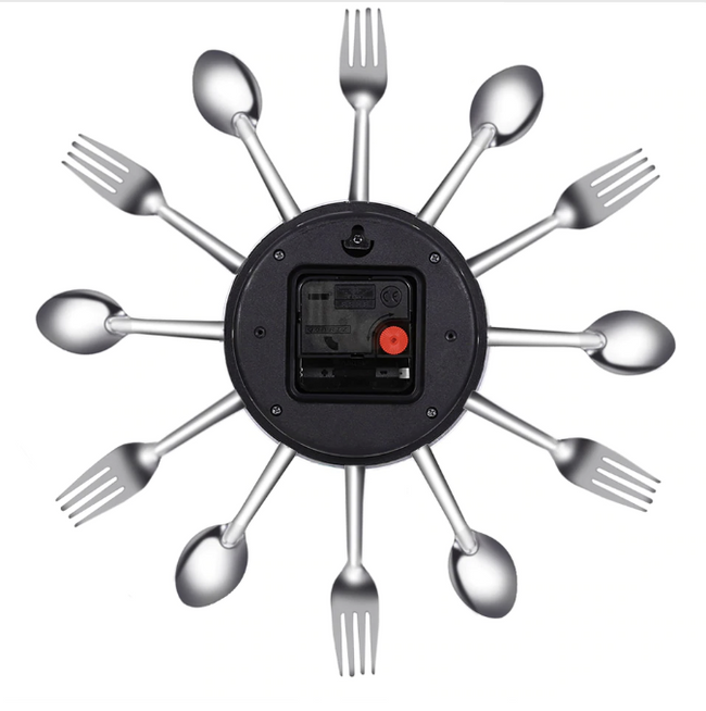 Fork And Spoon Wall Clock-Home-coolbuyshopstore