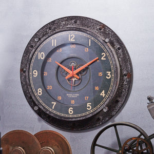 Control Room Wall Clock