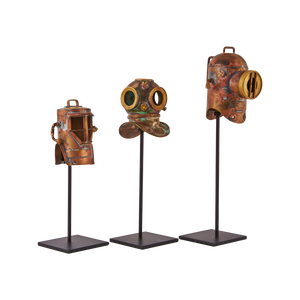 Diver Helmets Replica (Set of 3)