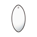 Ellipse Mirror Oval Antique Bronze