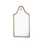 Gallery Mirror Antique Brass