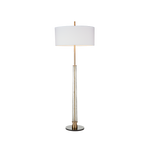 Hudson Floor Lamp Antique Brass