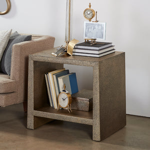 Kush Side Table Antique Brass