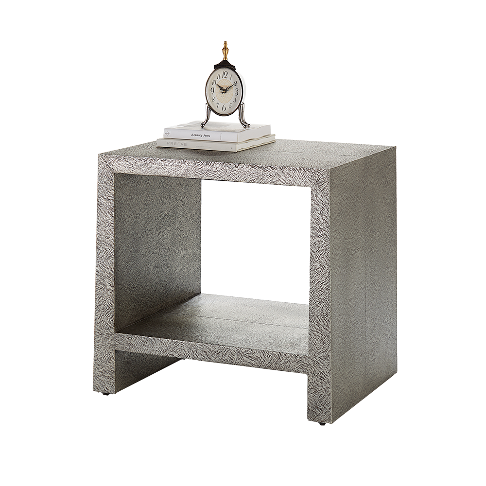 Kush Side Table Antique Nickel
