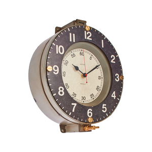 Marine Wall Clock Gray - Pendulux