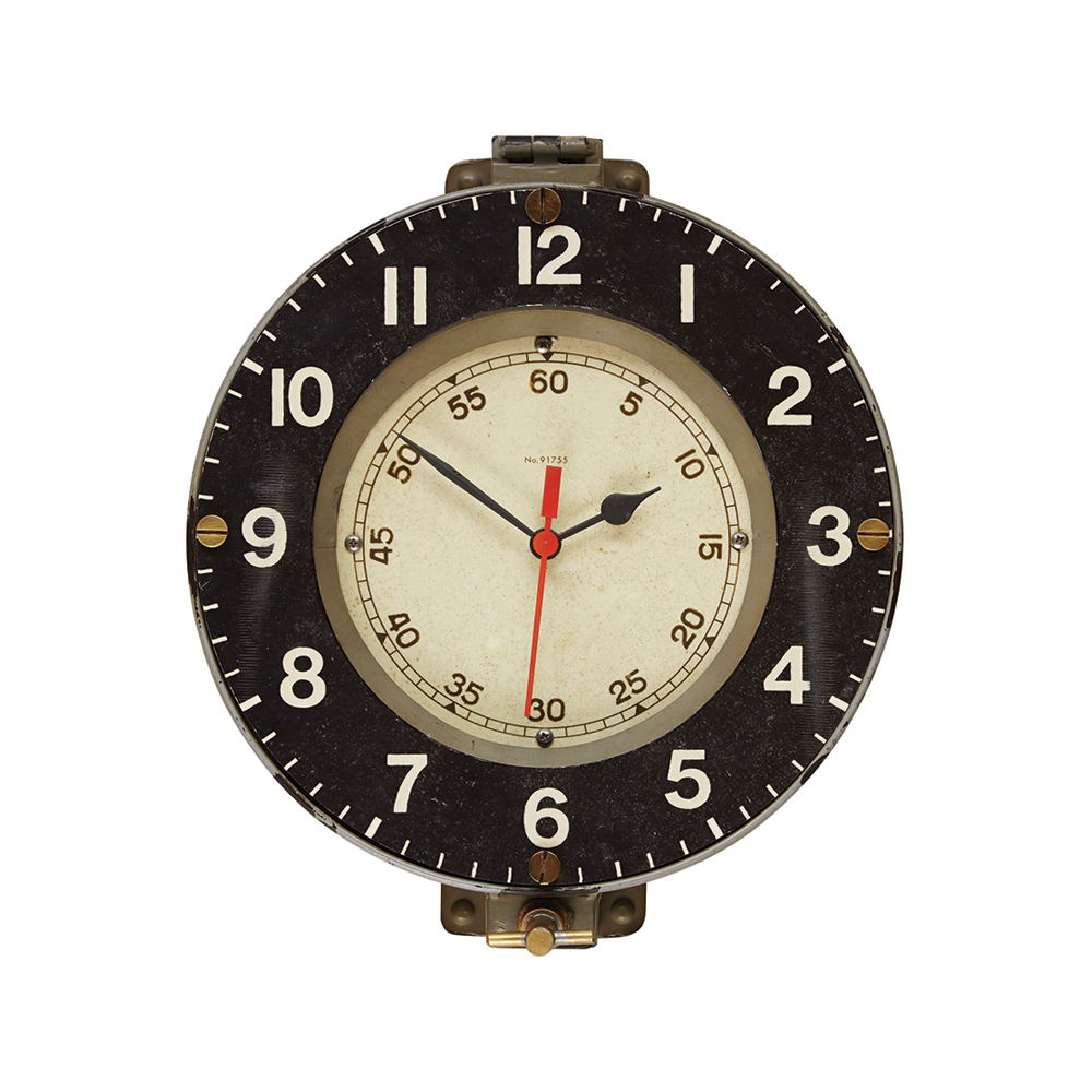 Marine Wall Clock Gray