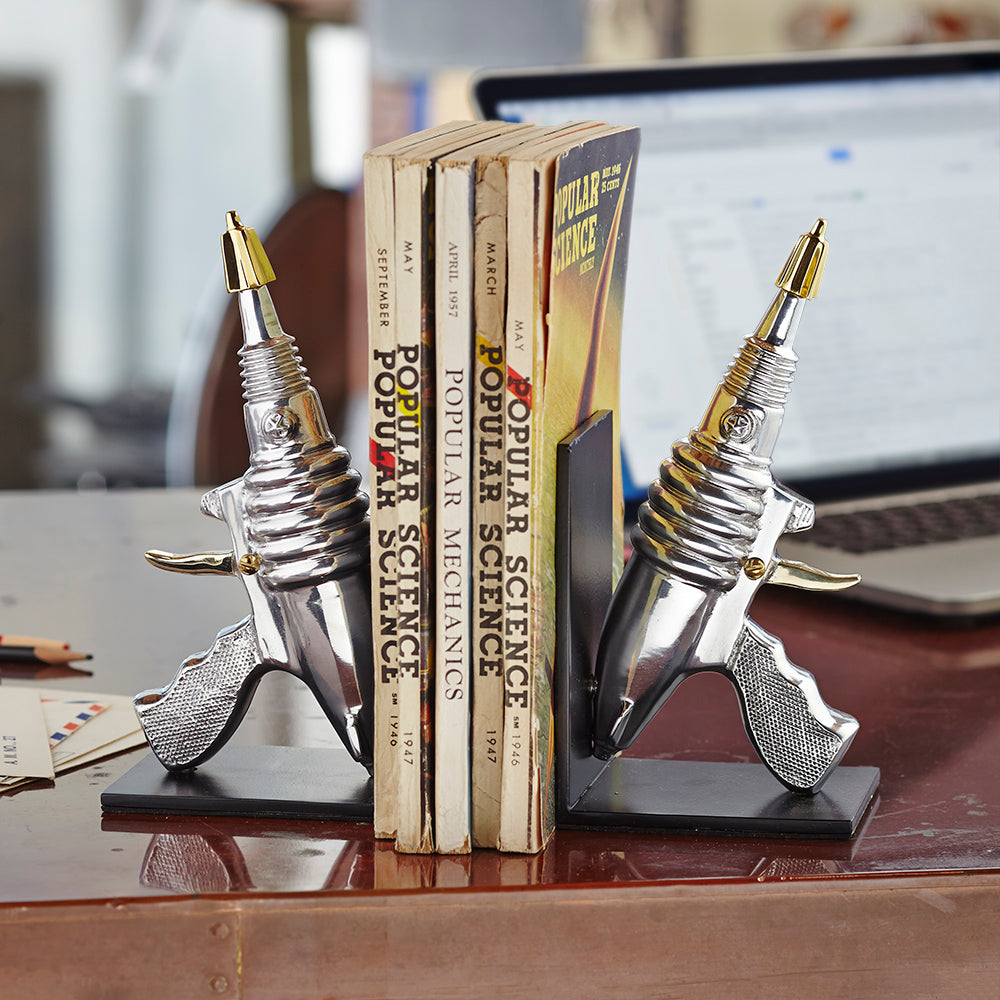 Ray Gun Bookends