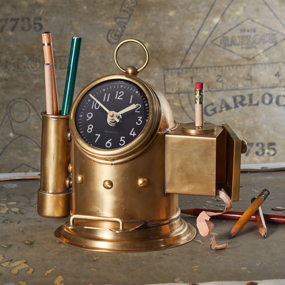 Pilot House Table Clock - Pendulux