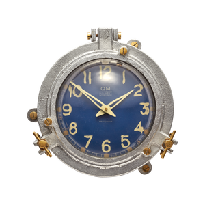 Quartermaster Wall Clock Blue - Pendulux