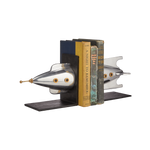 Rocket Bookends Aluminum - Pendulux