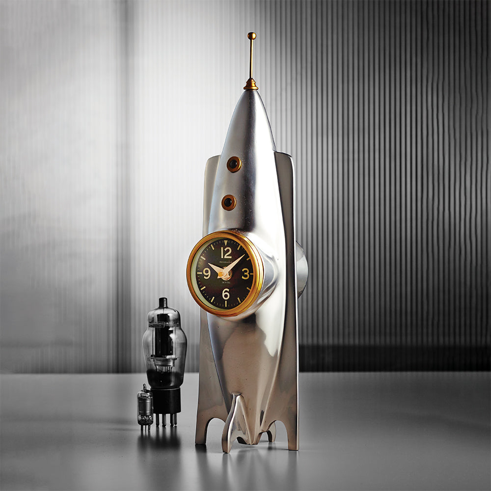 Rocket Table Clock
