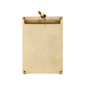 Scribner Notepad Brass Large - Pendulux