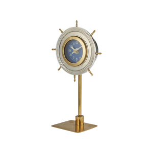 Skipper Table Clock Aluminum - Pendulux