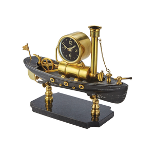 Steamboat Table Clock - Pendulux