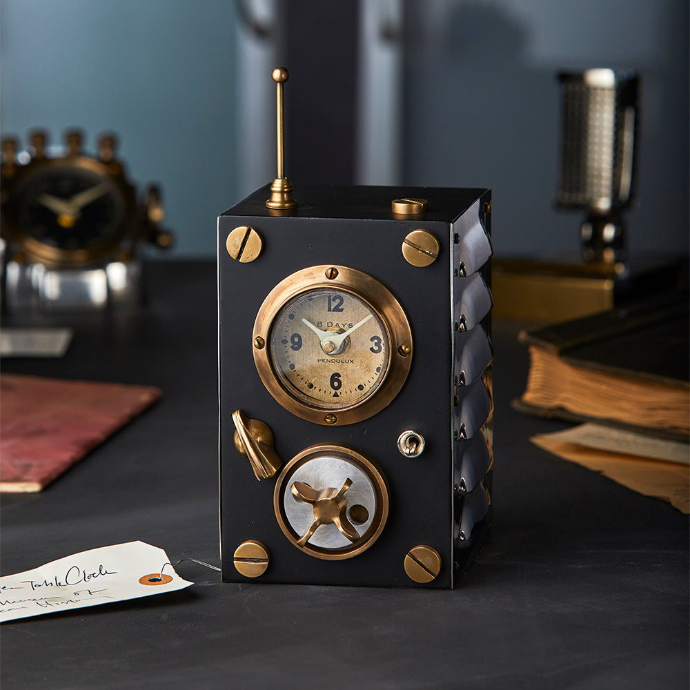 Transmitter Table Clock