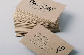 Business Card - Kraft