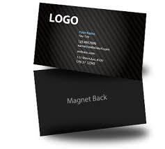 Business Card - Magnetic