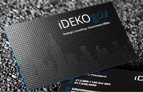 Business Card - Spot UV