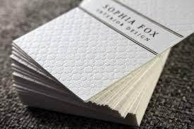 Business Card - Ultra Thick