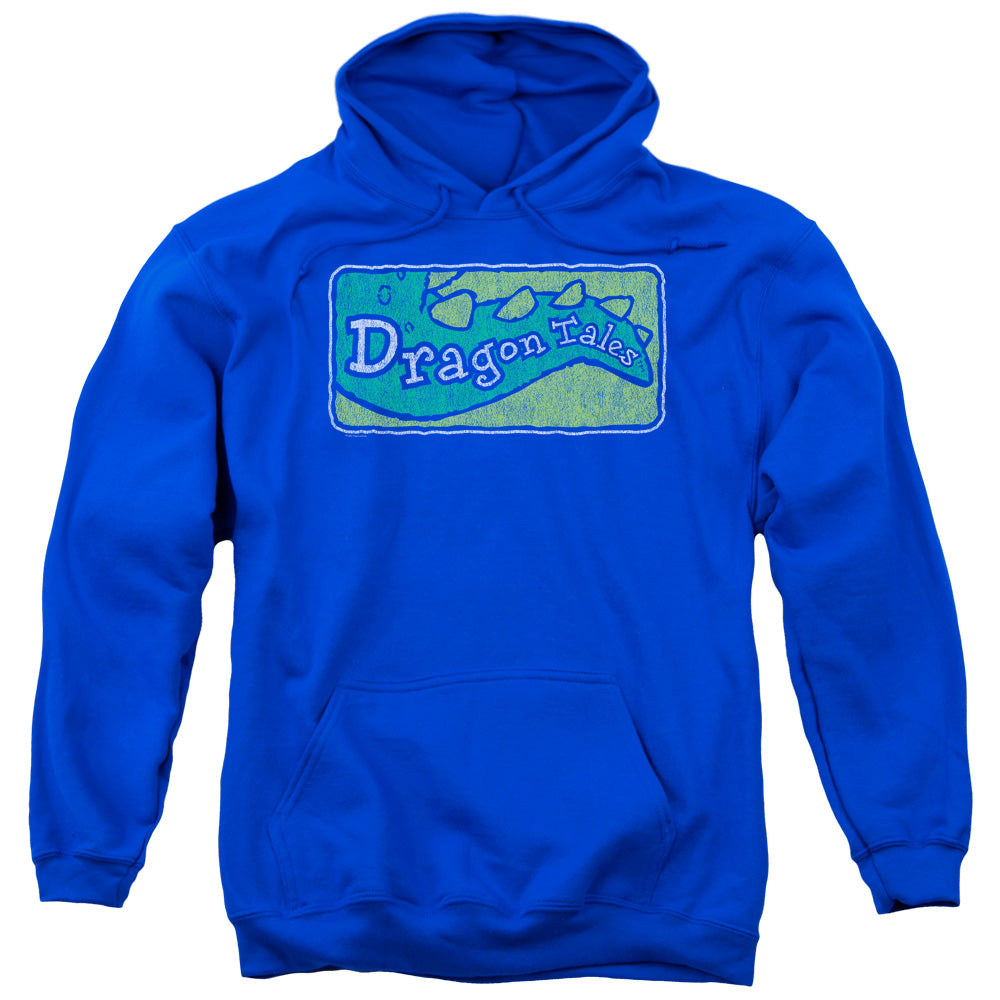 Dragon Tales - Logo Distressed Adult Pull Over Hoodie
