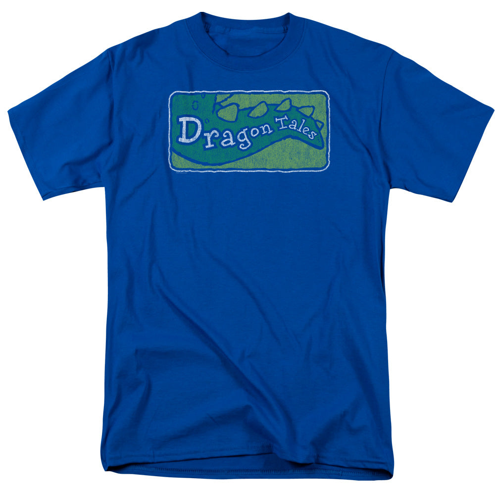 Dragon Tales - Logo Distressed Short Sleeve Adult 18/1