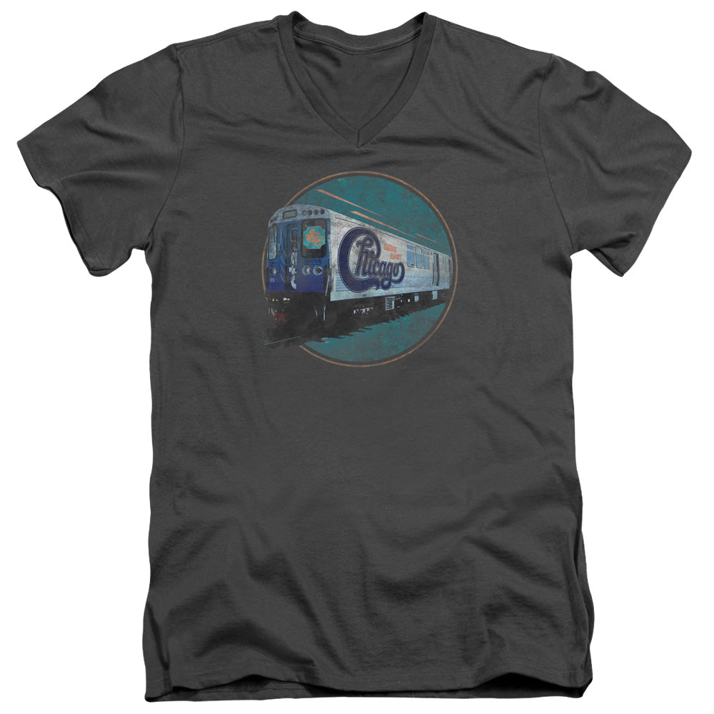 Chicago - The Rail Short Sleeve Adult V Neck