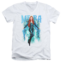 Load image into Gallery viewer, Aquaman Movie - Mera Short Sleeve Adult V Neck 30/1