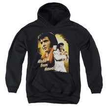 Load image into Gallery viewer, Elvis - Aloha Youth Pull Over Hoodie