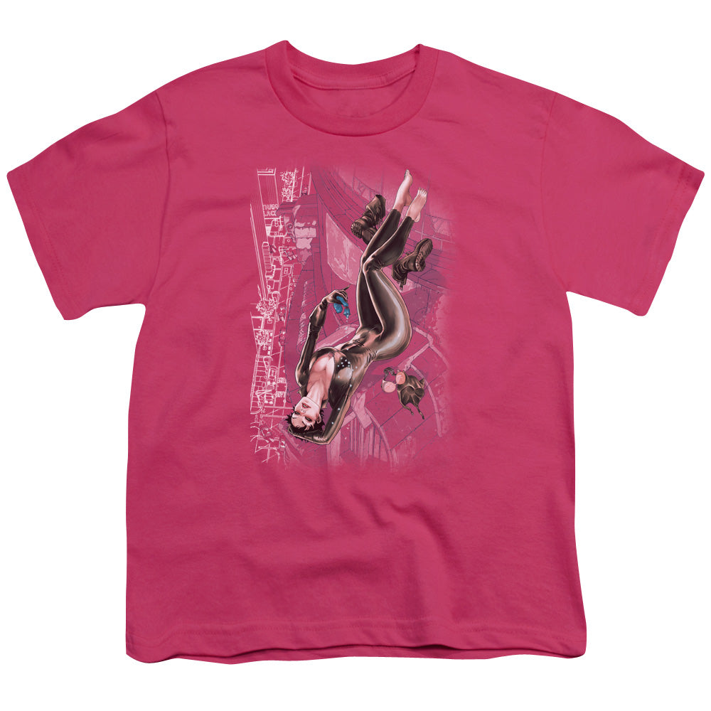 Jla - Catwoman #1 Short Sleeve Youth 18/1
