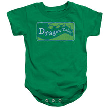 Load image into Gallery viewer, Dragon Tales - Logo Distressed Infant Snapsuit