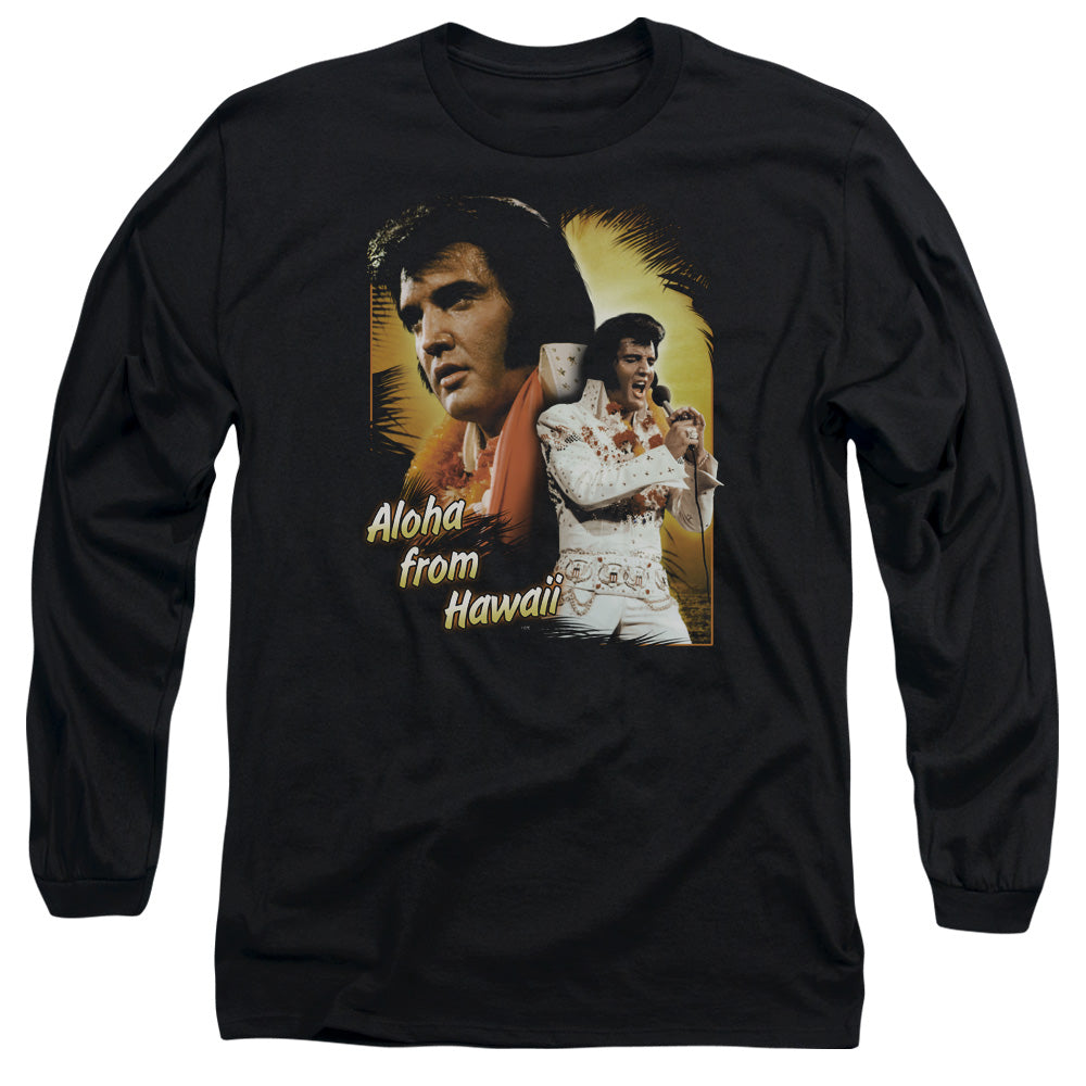Elvis - Aloha Long Sleeve Adult 18/1
