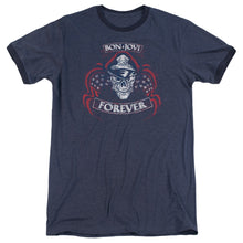 Load image into Gallery viewer, Bon Jovi - Forever Skull Adult Ringer
