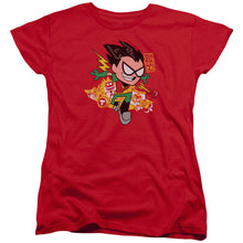 Load image into Gallery viewer, Teen Titans Go - Robin Short Sleeve Women's Tee