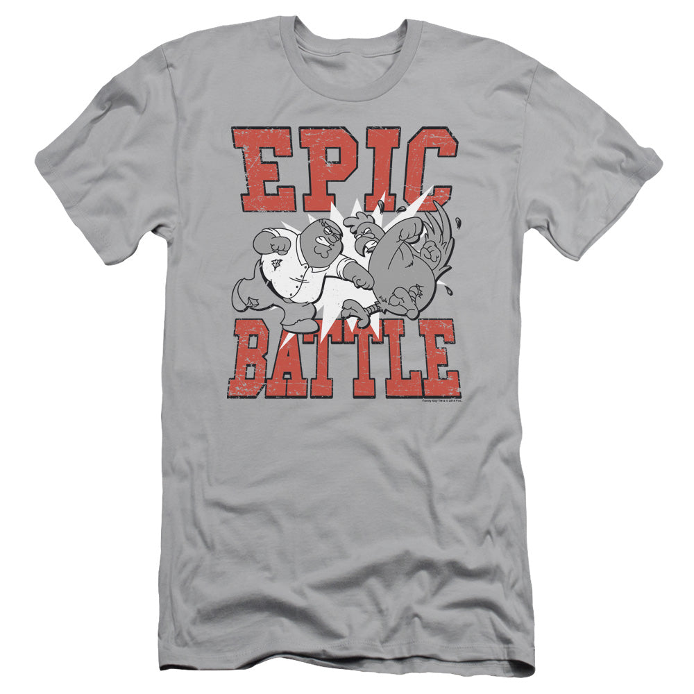 Family Guy - Epic Battle Short Sleeve Adult 30/1
