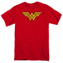 Load image into Gallery viewer, Wonder Woman Logo Dist Short Sleeve Adult 18/1