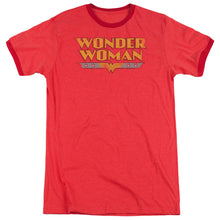 Load image into Gallery viewer, Wonder Woman Logo Adult Heather