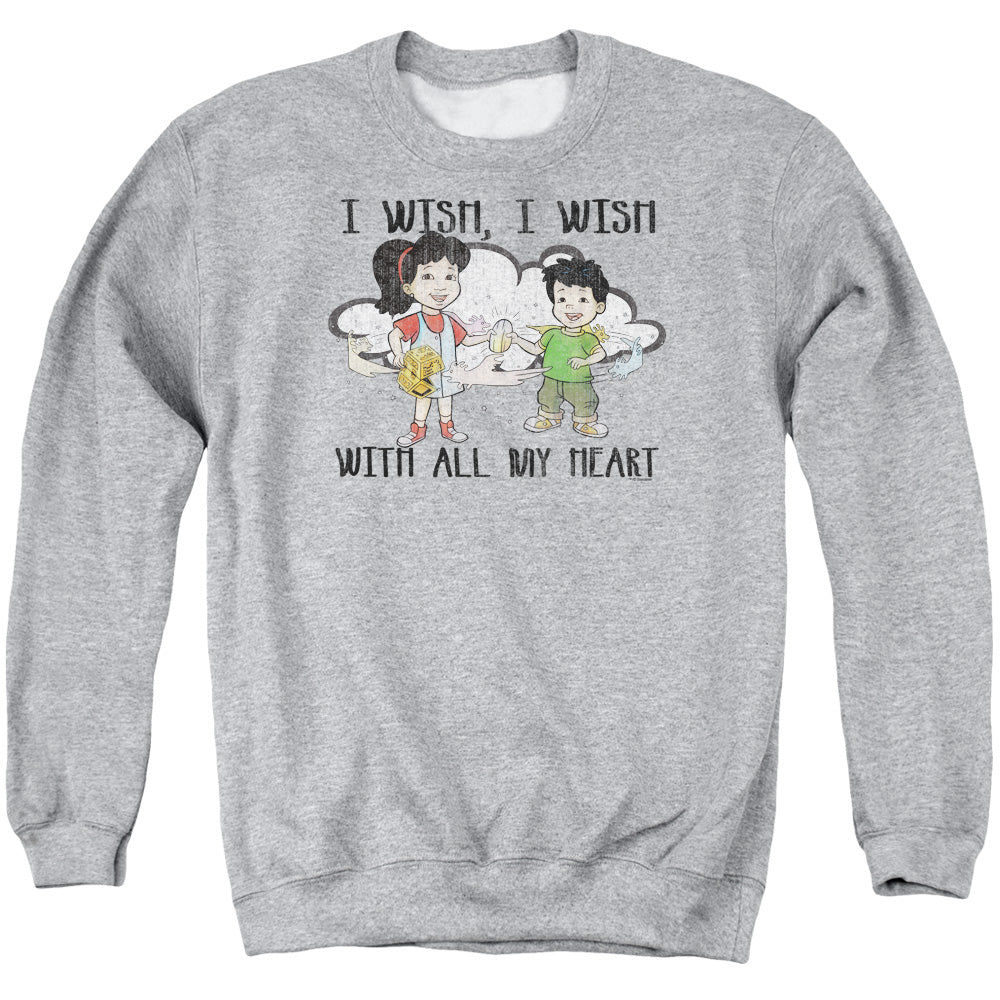 Dragon Tales - I Wish With All My Heart Adult Crewneck Sweatshirt