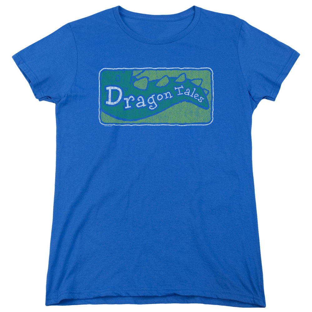 Dragon Tales - Logo Distressed Short Sleeve Women's Tee