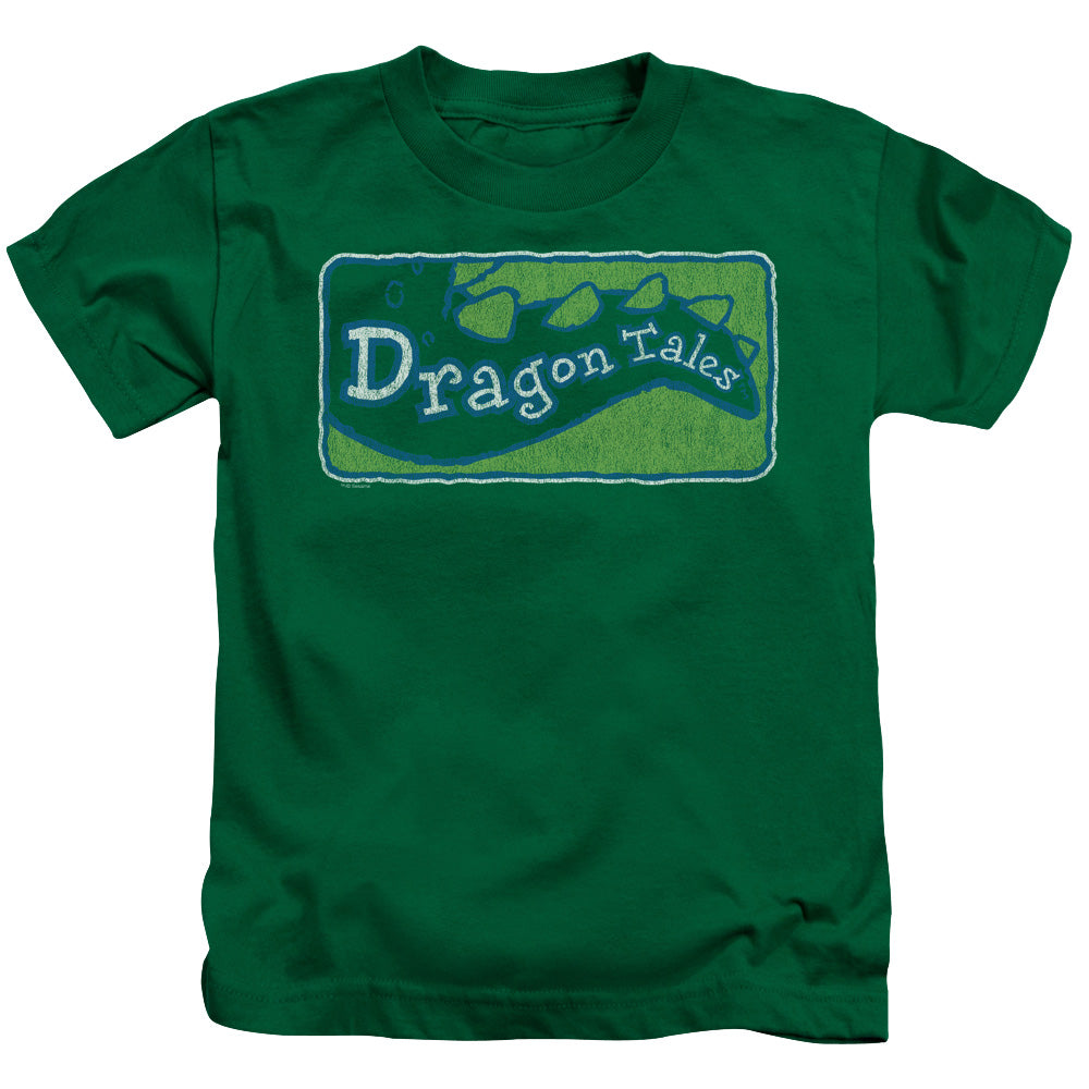 Dragon Tales - Logo Distressed Short Sleeve Juvenile 18/1