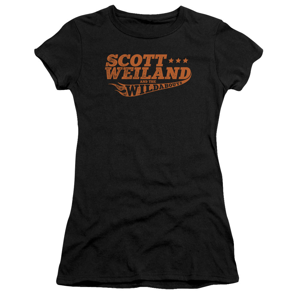 Scott Weiland - Logo Short Sleeve Junior Sheer