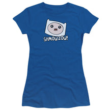 Load image into Gallery viewer, Adventure Time - Shmowzow Short Sleeve Junior Sheer