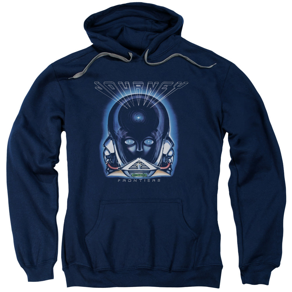 Journey - Frontiers Cover Adult Pull Over Hoodie