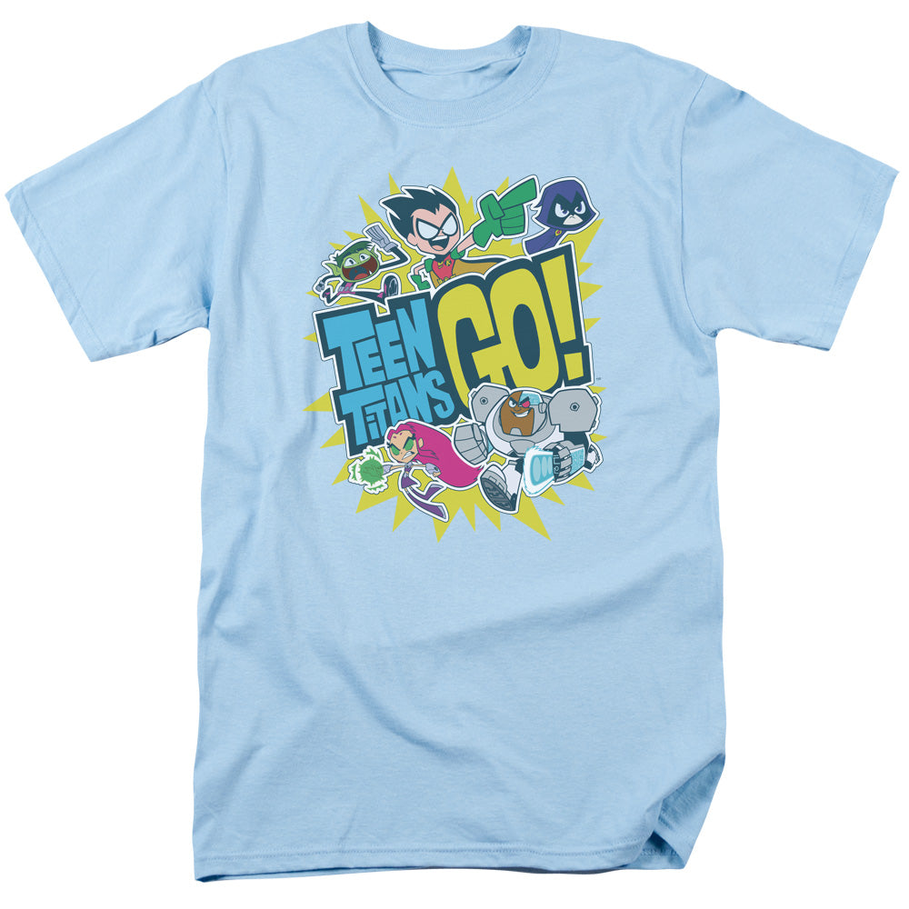Teen Titans Go - Go Short Sleeve Adult 18/1