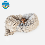 DogsLanding™ Calming Bundle (Bed + Blanket)