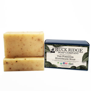 The Forester Men's Handmade Soap - USDA Certified Organic