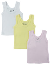 Load image into Gallery viewer, Girls Pastel Tank Top 3 Pack