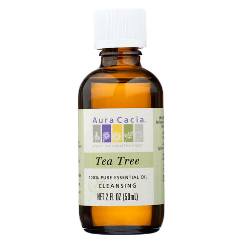 Aura Cacia - 100% Pure Essential Oil Tea Tree Cleansing - 2 Oz