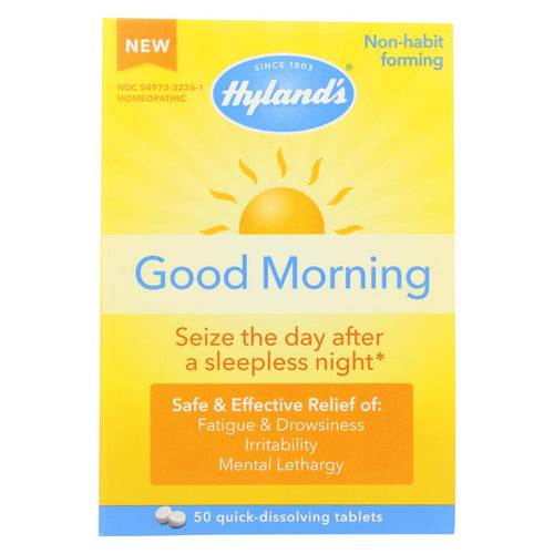 Hylands Homeopathic Good Morning - 50 Tablets
