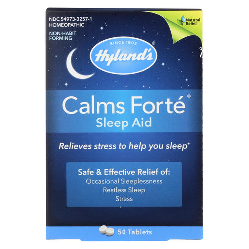 Hylands Homeopathic Calms Fort? - Sleep Aid - 50 Tablets
