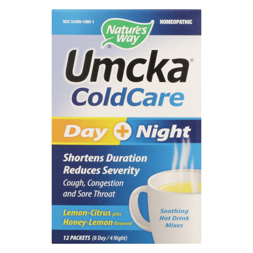 Nature's Way - Umcka Coldcare Drink - Day And Night - 12 Count